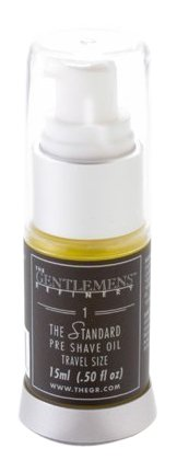 The Gentlemens RefineryThe Standard Pre-Shave Oil TSA Travel Size, All-Natural & Organic, 15ml 689076671347