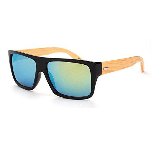 Negro Azul sol para Gafas de hombre JULI xpqzHYw47