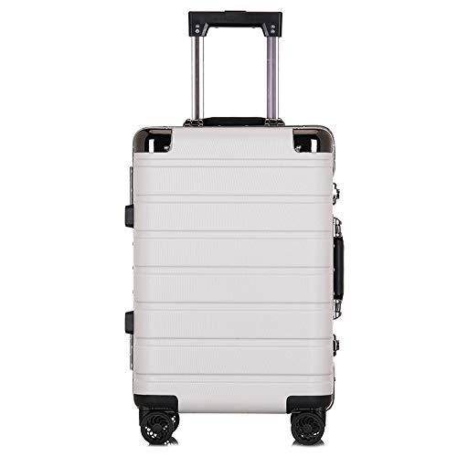 スーツケーストロリーケースビジネスアルミフレーム荷物ボックスユニバーサルホイール20インチ搭乗,C,20inch B07T9RP5Q3 C 20inch