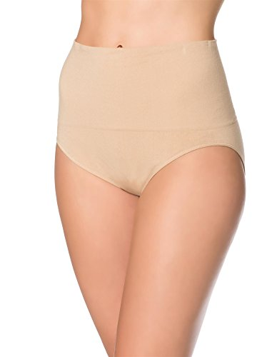 Motherhood Post Pregnancy Panty (2 Pack), Black/Nude, S/M (Section C Underwear)