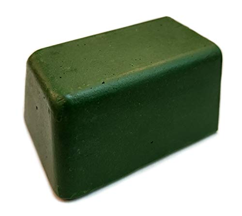 Fine Green Polishing Compound 5 Oz. for Leather Strops and Buffing Wheels | For sharpening honing knives, straight razors, blades, chisels and tools by Upon Leather.
