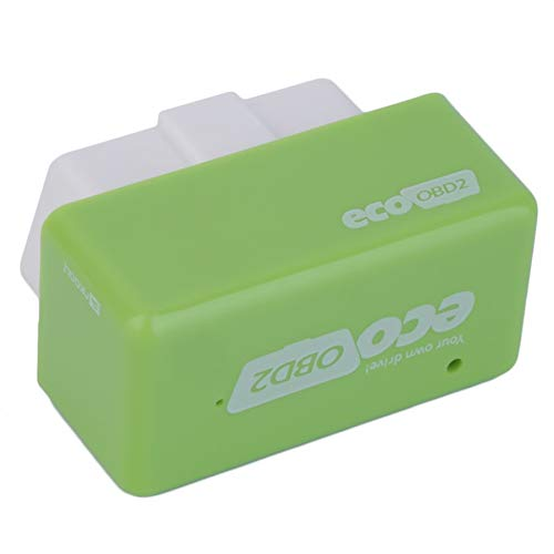 Scatola di sintonia dei chip Economy Plug & Drive OBD2 per auto Benzine Green NOVITÀ Lovelysunshiny