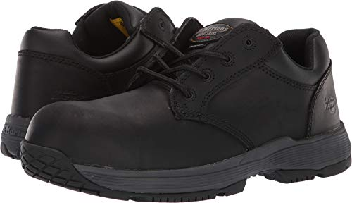 Dr. Martens Unisex Linnet SD Non-Metallic Steel Toe 4-Eye Shoe Black Connection 10 M UK ()