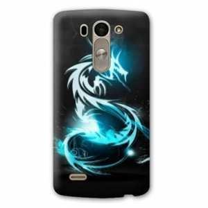 Amazon.com: Case Carcasa LG K10 Fantastique - - dragon bleu ...