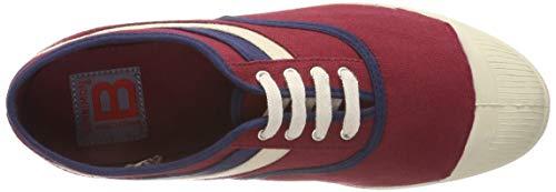 Waves Bensimon Zapatillas Para Tennis bordeaux Rojo Mujer 0403 11wF5vrqx