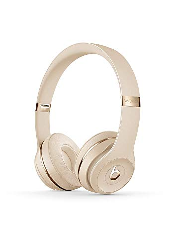 Electronics : Beats Solo3 Wireless On-Ear Headphones - Satin Gold