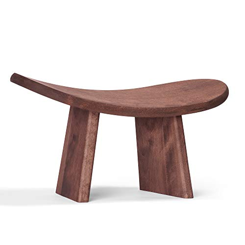 SPOKO Meditation Bench, The Original Kneeling Stool, Posture Certified, Best Chair, Low Seat for Meditations, Yoga, Prayer, Seiza and Kids, No Cushion, Mat, or Pillow Needed , Peace and (Best Meditation Benchs)