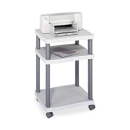 safco- Wave Diseño de Soporte para Impresora, PRNTR, Mesa Lateral ...
