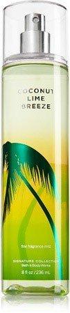 Bath and Body Works Coconut Lime Breeze Fine Fragrance Mist 8 Ounce