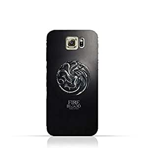 Samsung Galaxy S6 Edge Plus TPU Silicone Protective Case with Targaryen - Game of Thrones Design