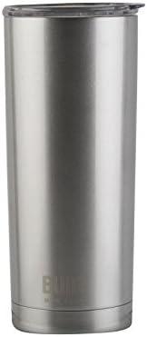 BUILT Copo de aço inoxidável de parede dupla de 590 ml prata 5193244