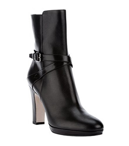 maxmara-osol-side-zip-strap-detail-short-leather-boots-sz-39-black-80640mm