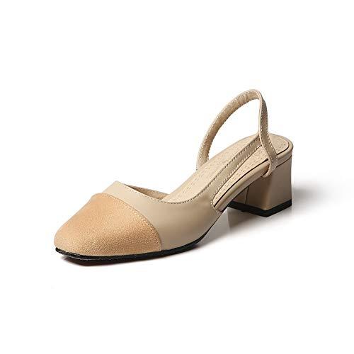 AdeeSu Sandales EU Compensées Beige SLC04323 5 Femme 36 Beige 7rw7UR