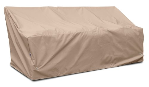 KoverRoos Weathermax 49355 Deep Large Sofa Cover, 87-Inch Width by 40-Inch Diameter by 31-Inch Height, Toast by KOVERROOS (Image #5)