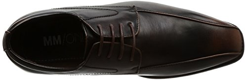 Mm / One Mens Slip On Shoes Per Uomo Mocassini Con Punta Oxford Scarpe Eleganti Nero Scuro Testa Di Moro Marrone Scuro