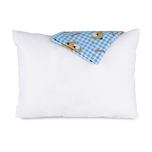 Adoric Cute Child Pillows for Sleeping Down Alternative Bed Pillows 100% Cotton