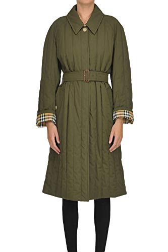 - BURBERRY Women's Mcglcsc000006028i Green Cotton Trench Coat