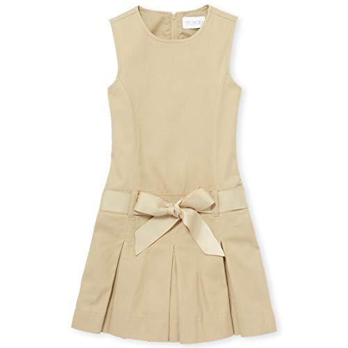 The Children's Place Big Girls' Uniform Jumper, Sandy, - Uniform Dress Jumper