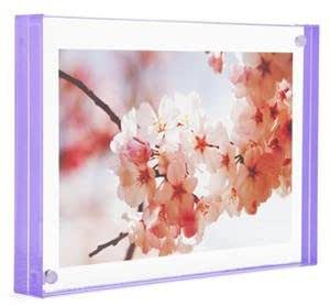 Color Edge Magnet Frame by Canetti-Pastel Grape 3.5x5 inch