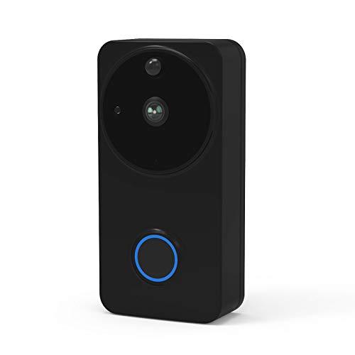 JSGJSXT Monitor Port Doorbell Alarm Video Door Phone Video Doorbell Wireless Wi-fi Camera Battery IP Waterproof Outdoor iOS Android