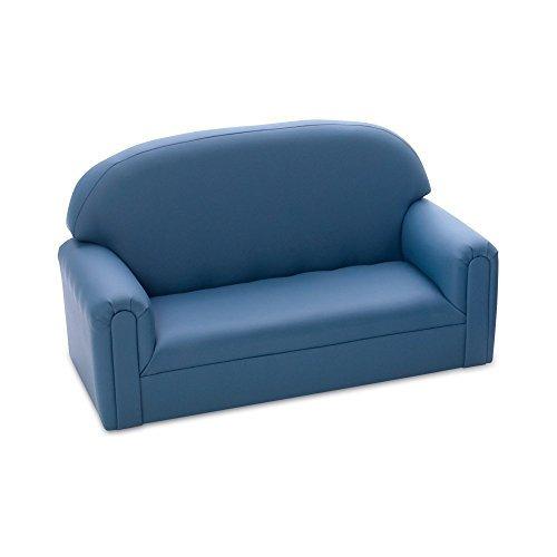 Brand New World Furniture FI2B100 Brand New World Toddler Enviro-Child Upholstery Sofa, Blue