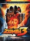 Zombi 3 (1988) cover.