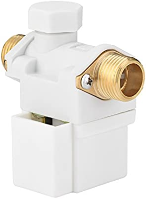 AC 220V 1//2 Male Threaded Normally Closed Electric Solenoid Valve Quick Connect for Solar Water Heater