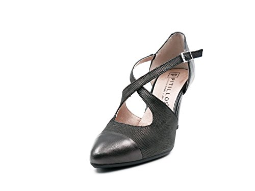 Negro PITILLOS Women's 620 Shoes Black 5080 ttZ7qwvB