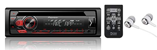 Pioneer Single DIN In-Dash CD/CD-R/RW, MP3/WMA/WAV AM/FM Front USB/Auxiliary Input MIXTRAX and ARC Support Car Stereo Receiver Detachable face plate / FREE ALPHASONIK EARBUDS (2001 Toyota Sequoia Cd Player)