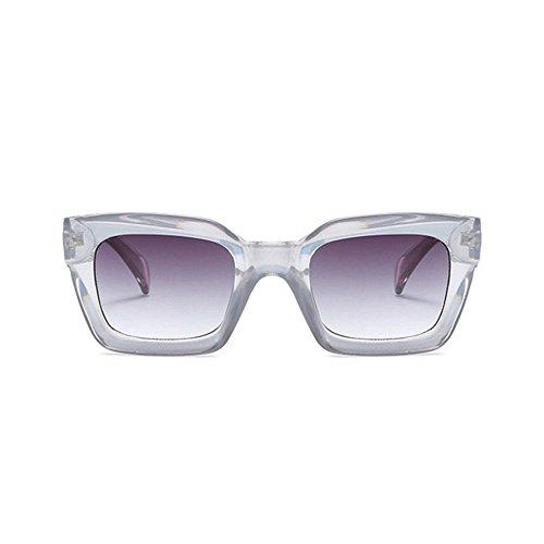 Aoligei Mode image gelée hommes lunettes de soleil rectangulaires tendance européenne lunettes de soleil femmes rondes visage lunettes de soleil s6ioDBd3ZB