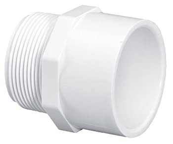 "LASCO FITTINGS INC 436-020 2"" MALE ADAPTER"