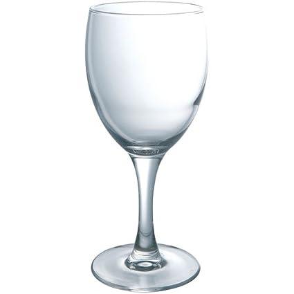 Luminarc E5060 Elegance - Juego de 3 copas de agua, transparente, 24.5 cl