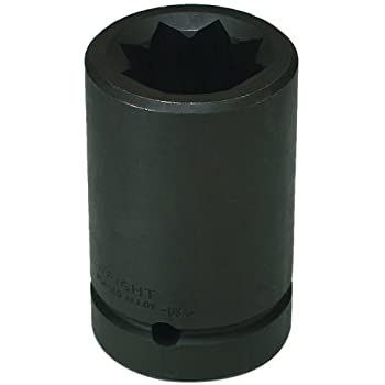 1//2-Inch Drive 8-Point Double Square Deep Impact Socket Wright Tool 4776 1//2-Inch