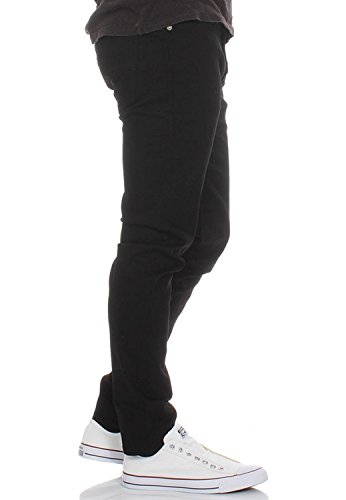 Fit Uomo Nightshine Nero Conici 512 Slim Levi's Jeans qRxzTAtqw