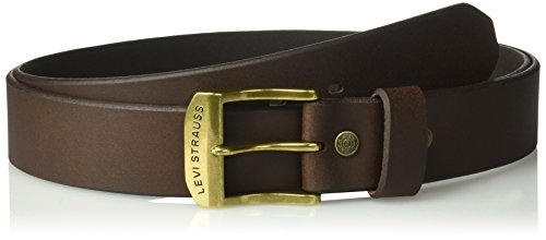 - Levi's Men's 100% Leather Belt  with Prong Buckle, Big-tall 1 1/2 In. Bridle Belt Big & Tall, Brown, 58