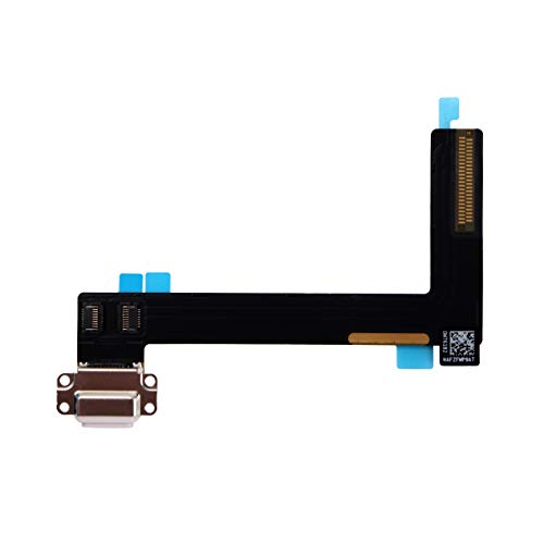 COHK USB Charging Port Dock Connector Flex Cable Replacement for iPad Air 2 (White)
