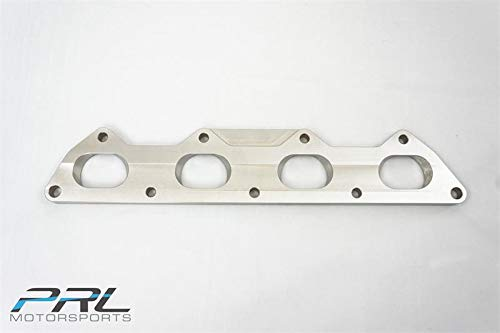 PRL Cylinder Head Exhaust Manifold Flange for Mitsubishi 4G63 EVO DSM ()