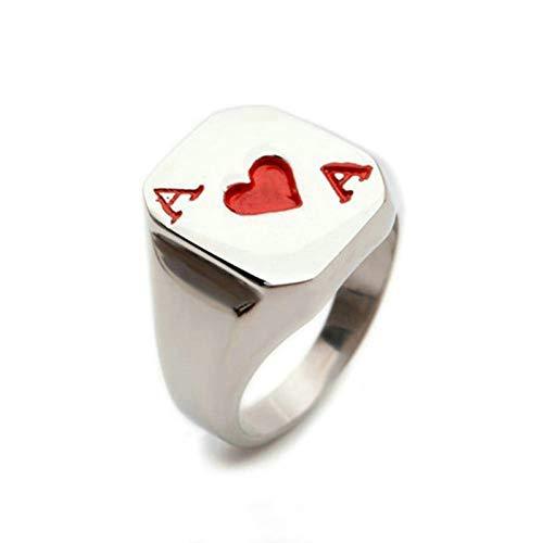 Aooaz Jewelry Signet Rings for Men Rechteck Width 16MMstainless Steel Ring US Size 13 (Rechteck-symbol)