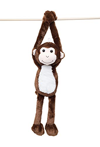 24-Inch Hanging Monkey Stuffed Animal – Monkey Toy With Specially Designed Ultra Soft Plush Feel For Kids – Hands That…