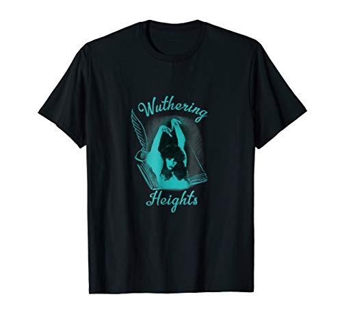 Kate Bush, Wuthering Heights TShirt, Book Blue