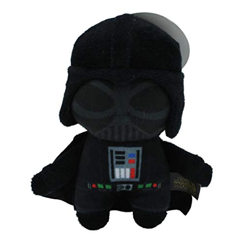 Star Wars Plush Darth Vader Figure Dog Toy | Soft Star Wars Squeaky Dog Toy | Medium -