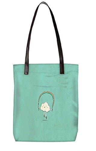 Snoogg Strandtasche, mehrfarbig (mehrfarbig) - LTR-BL-3150-ToteBag