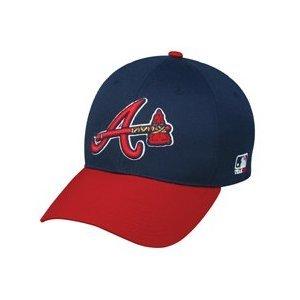 "MLB ADULT Atlanta BRAVES Alternate ""Hatchet"" Hat Cap Adjustable Velcro TWILL by Team MLB - Authentic Sports Shop"