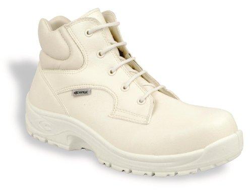 COFRA - Calzado de protección para hombre blanco - blanco