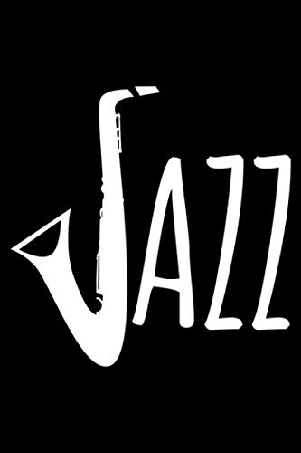 Jazz: Blank Paper Sketch Book - Artist Sketch Pad Journal for Sketching, Doodling, Drawing, Painting or Writing