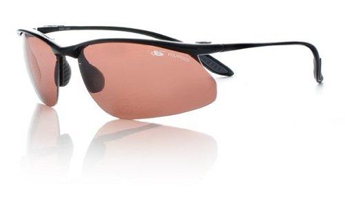 044840c312f Amazon.com  Bolle Sport Kicker Sunglasses (Shiny Black Polarized ...