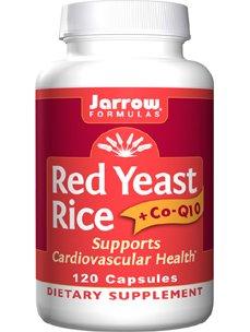 Jarrow Formulas - Levure de riz rouge + Co-Q10 120 caps (pack de 2)