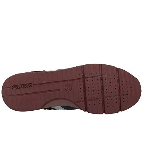 B Abx Bleu Green C4428 U dk A navy Geox Sneakers Sandford Basses Homme a8twE