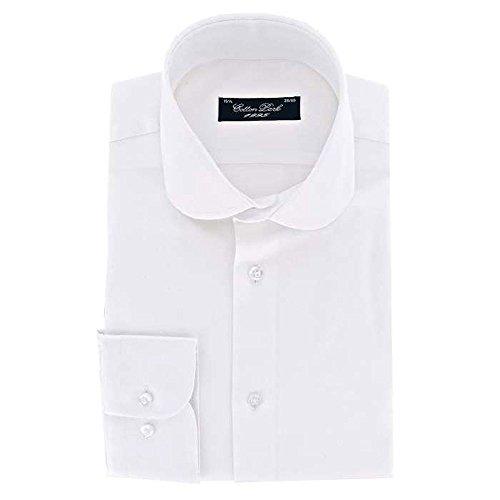 Cotton Park–Hemd Klassische 'Full IT Leo'–Weiß–Herren