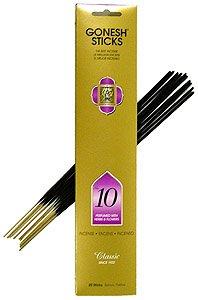 春夏新作モデル Gonesh ~ &花) Incense 4 Sticks ~ Pack of 4 ~ ~ No。10 ( Perfumed With Herbs &花) B000Q6Q200, キョウゴクチョウ:4b6c7c06 --- egreensolutions.ca